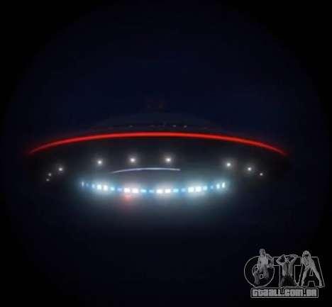 GTA V ovni (UFO) sobre a montanha Chiliad
