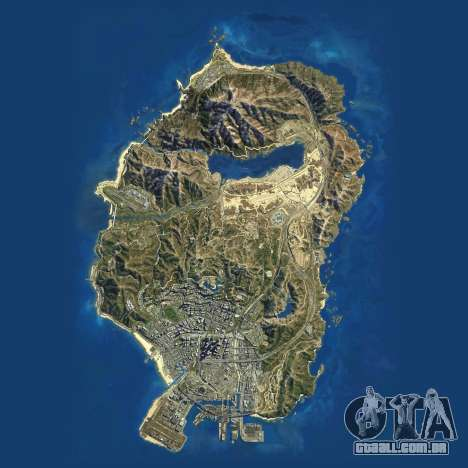 Carta Sentou-de Grand Theft Auto 5