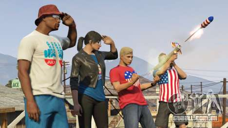 o Dia da independência do GTA Online