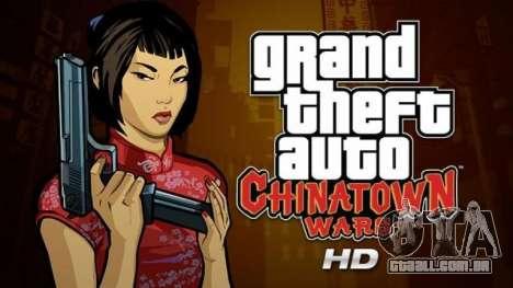 Lançamentos do GTA para o iPad: Chinatown Wars