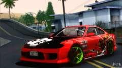 Nissan Silvia S15 Drift Team Monkey para GTA San Andreas