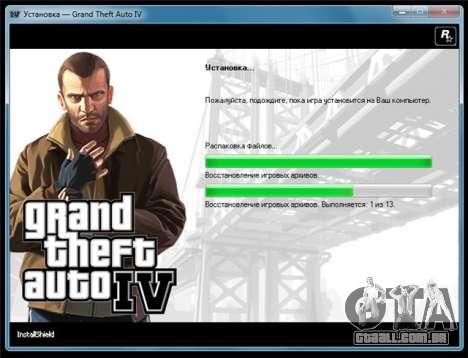 GTA 4 para Windows: PAL lançamento de uma versão