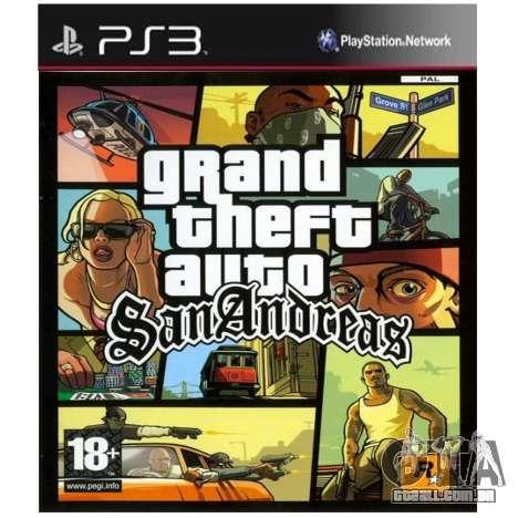 Posterior portas GTA SA: PS3-versão na América