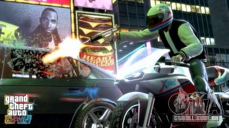 o Lançamento do suplemento de GTA TBOGT PC, PS3 na Europa