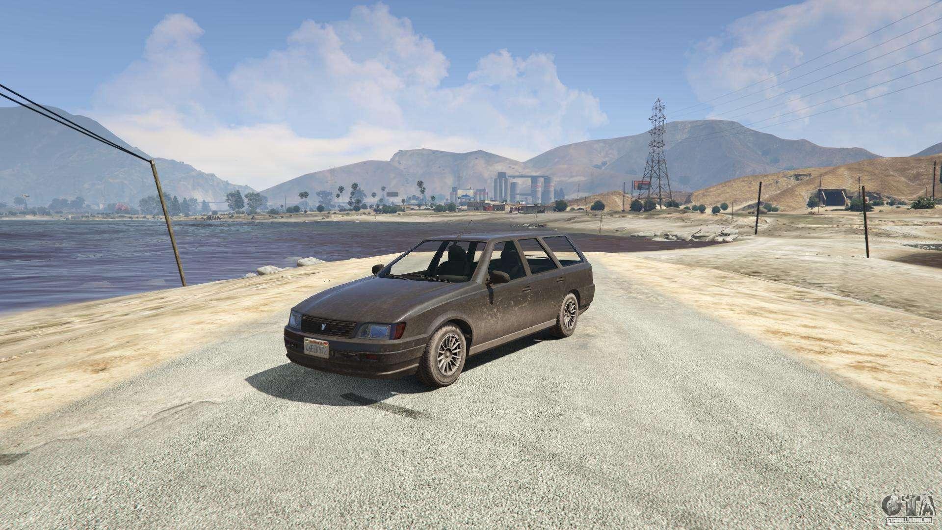 Western Cargobob de GTA 5