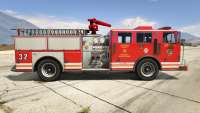 GTA 5 MTL Fire Truck - vista lateral