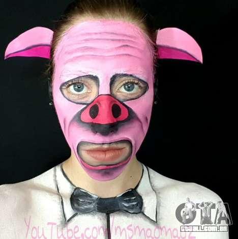 Porco Máscara