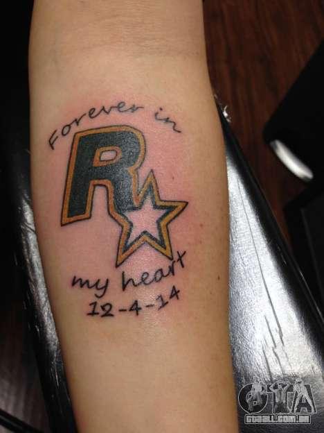 Rockstar Games Tatuagem