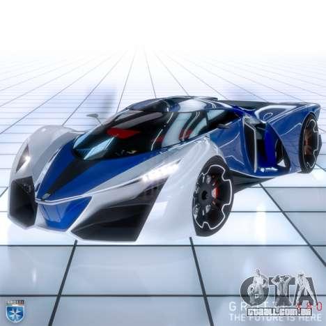 novo supercarro Grotti X80 Proto