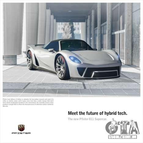 Novo Pfister 811 supercarro e o Dia da Independência de eventos em GTA Online
