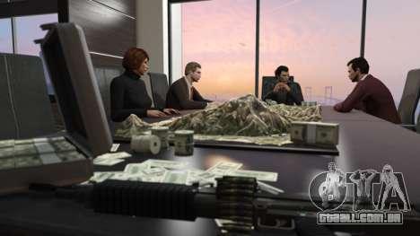 os Líderes do sindicato do crime no GTA Online
