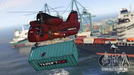 entrega da Carga no GTA Online