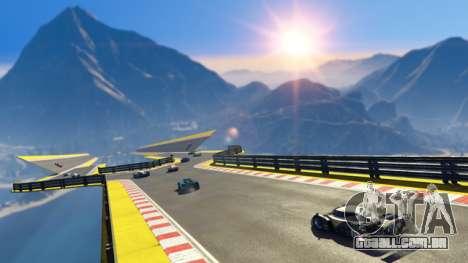 Caminho para baixo no GTA Online