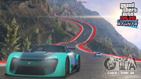 Novas raças e veículos em GTA Online