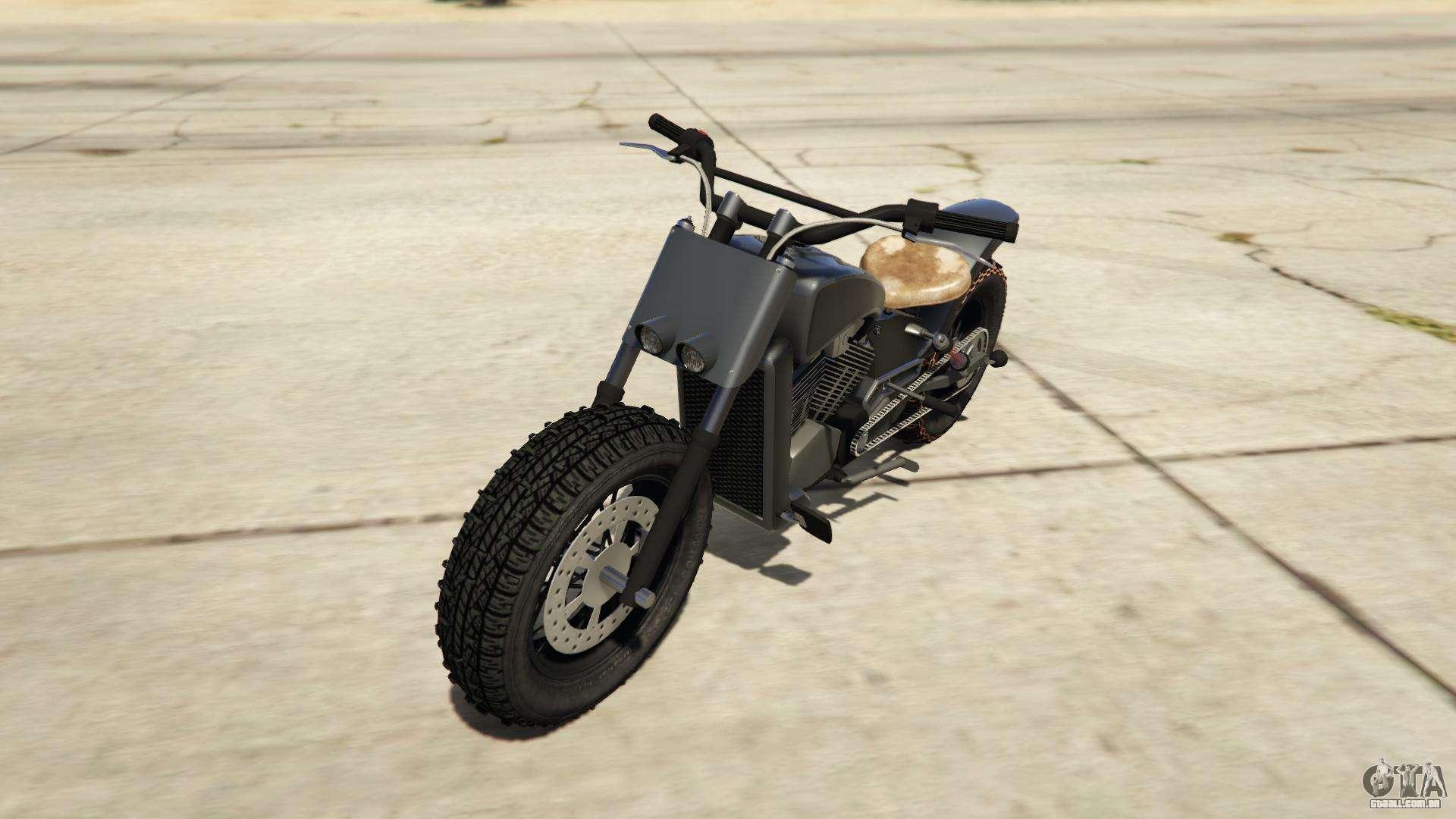 Western Motorcycle Company Gargoyle de GTA Online - vista frontal