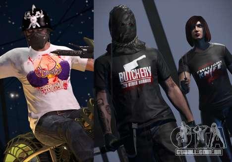 novas T-Shirts para o Helloween