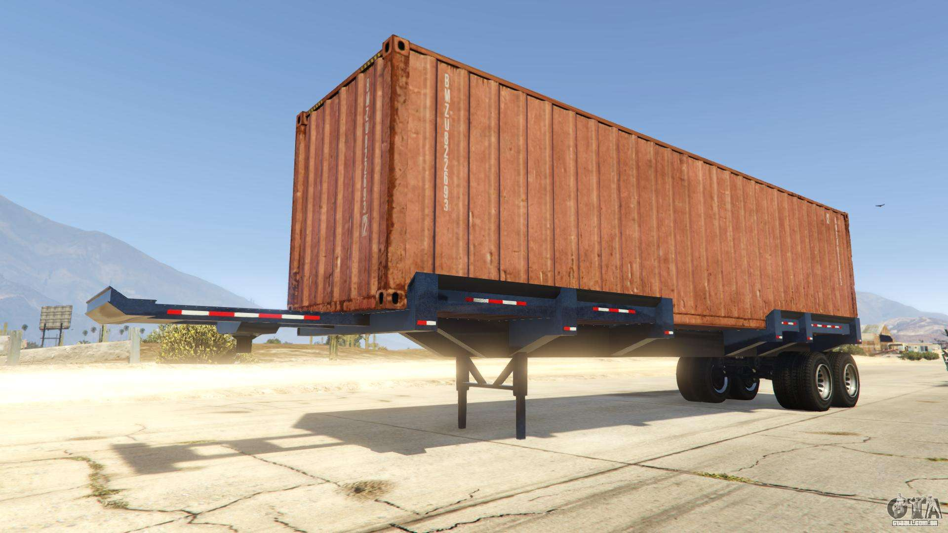 Dock Trailer de GTA Online