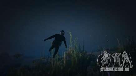 Sob a água GTA5