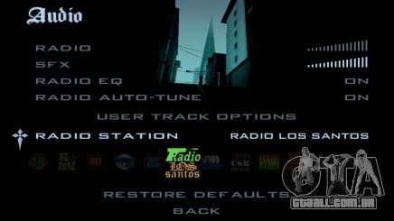 Rádio-faixas no GTA SA