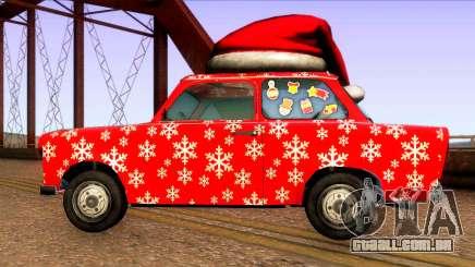 Natal-carros para GTA San Andreas