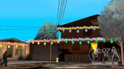 Decoração de natal no GTA San Andreas