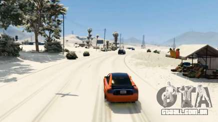 La nieve mod para GTA 5