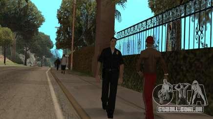 A polícia no GTA SA