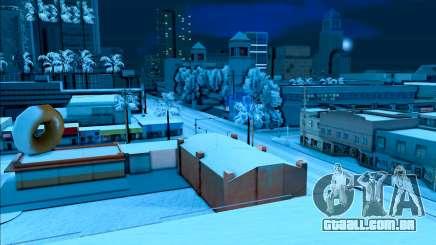 La nieve mod para GTA SA
