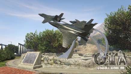 Como pilotar um jato militar no GTA