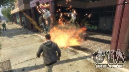 O bombardeio de GTA 5