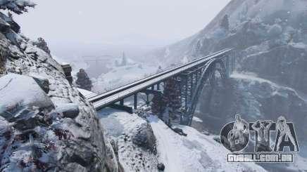 O inverno em GTA 5