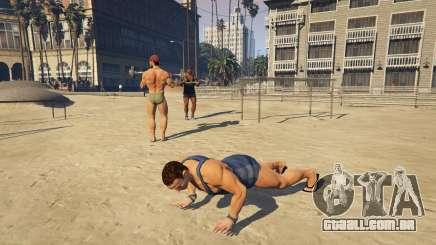 Os músculos em GTA 5