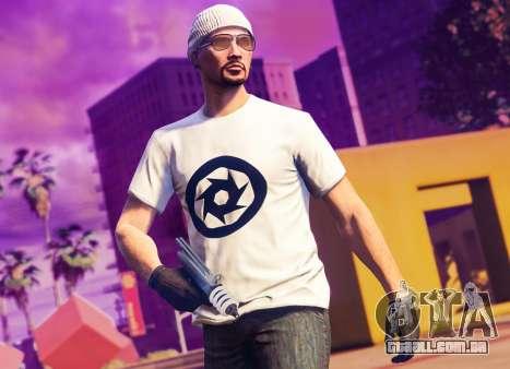 De presente uma camiseta no GTA Online
