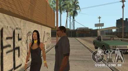 Como aumentar a sexualidade no GTA San Andreas