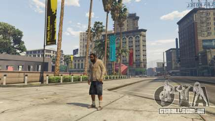 GTA 5 on-line personagem Der mais
