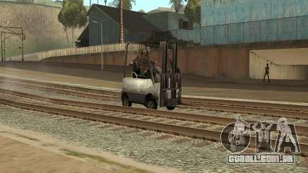 A missão do caminhão no GTA SA