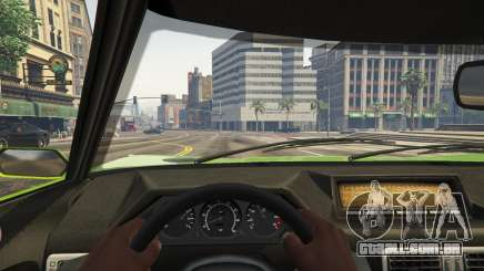 A vista do Cockpit em GTA 5