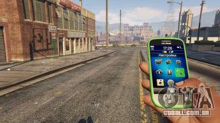 A Aplicação iFruit de GTA 5