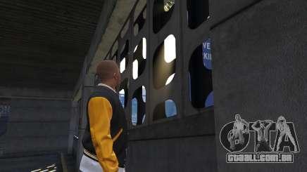 A passagem, as paredes em GTA 5