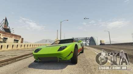 A condução de GTA 5