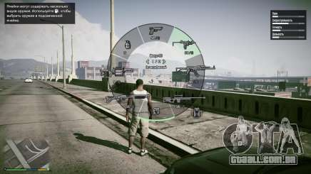 Interface completa de GTA 5