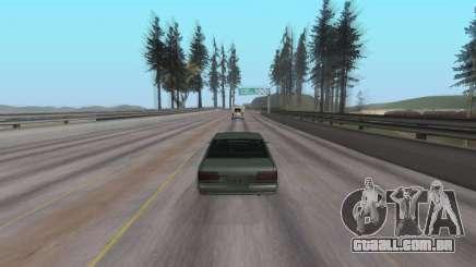 Ouça música em um carro no GTA San Andreas