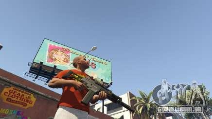 A descarga de armas no GTA 5