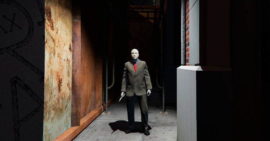 Effrayant slenderman de GTA 5