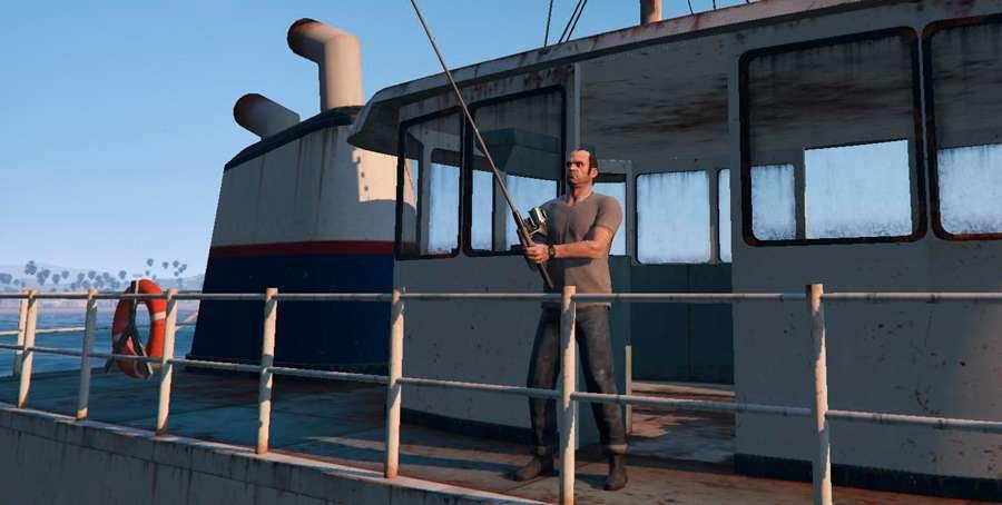 Como peixes em GTA 5