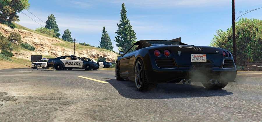 Como escapar da polícia em GTA 5