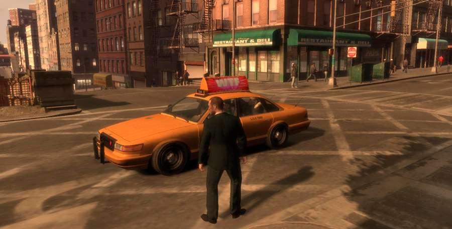 Para chamar um táxi no GTA 4