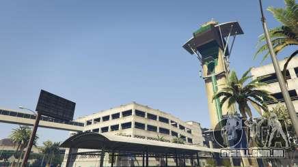 O aeroporto de GTA 5