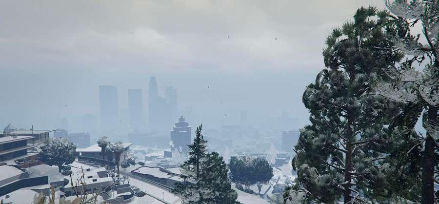 Neve em GTA 5
