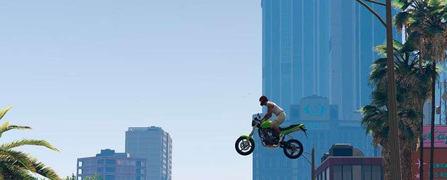 Como realizar acrobacias em GTA 5